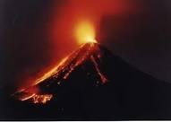 Fire Volcano in Mexico